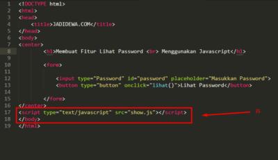 Membuat Fitur Lihat Password Membuat Fitur Lihat Password Menggunakan JavaScript - JADIDEWA.COM