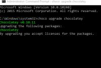 Cara Install Chocolatey Package Manager Untuk Windows 1