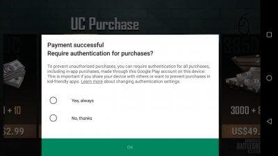 Cara Top Up PUBG Mobile Dengan Voucher Google Play 4