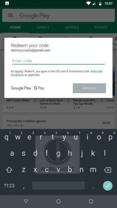 Cara Top Up PUBG Mobile Dengan Voucher Google Play 2